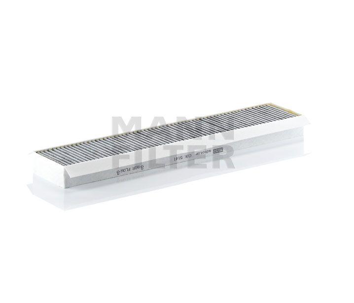 MANN Filter CUK5141 Aktívszenes pollenszűrő FORD MONDEO III, JAGUAR X TYPE