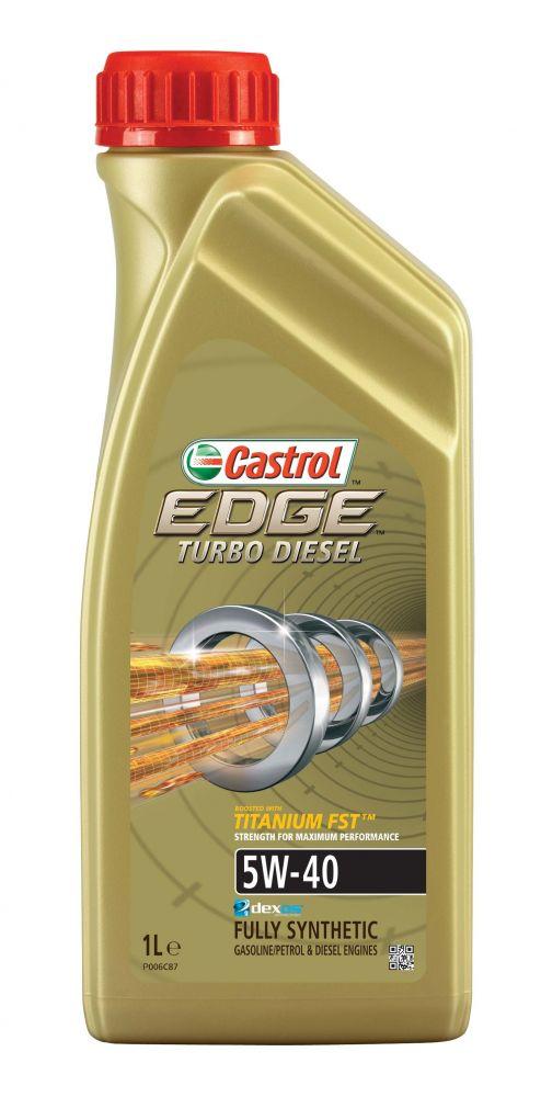 Castrol EDGE Turbo Diesel Titanium FST 5W-40 1 L Motorolaj