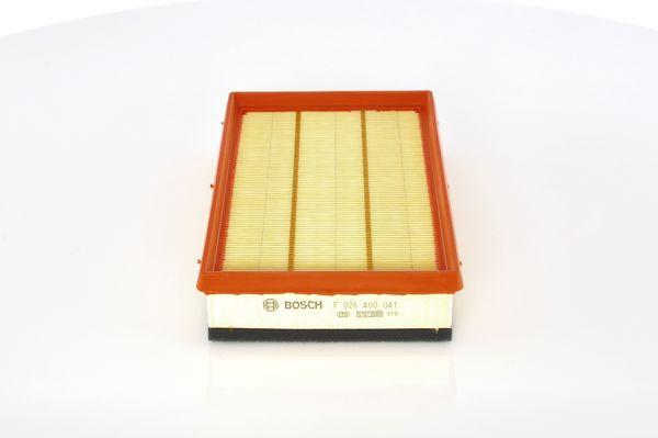 BOSCH F026400041 Levegőszűrő FIAT BRAVO, STILO 1.9 MJTD