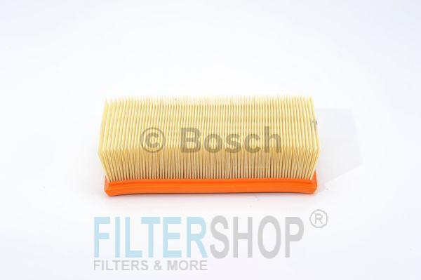 BOSCH F026400047 Levegőszűrő NISSAN CUBE, JUKE, MICRA, NOTE, TIIDA, RENAULT CLIO, MODUS
