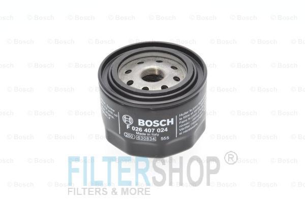 BOSCH F026407024 Olajszűrő FIAT DUCATO, IVECO DAILY