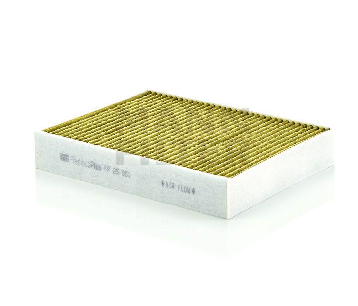 MANN Filter FP25001 FreciousPlus Polifenolos aktívszenes pollenszűrő BMW F20, F21, F22, F23, F30, F31, F32, F33, F34, F36, F80, F82