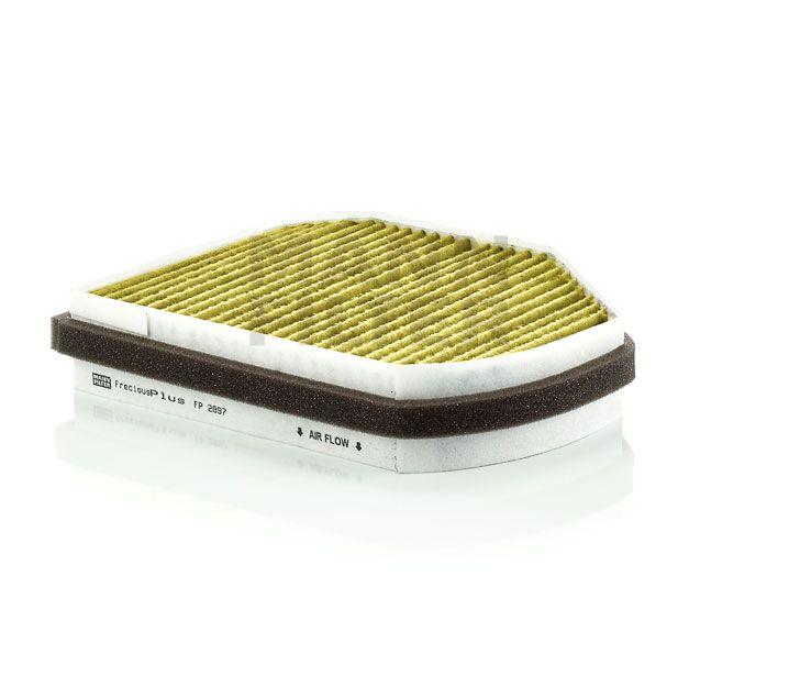 MANN Filter FP2897 FreciousPlus Polifenolos aktívszenes pollenszűrő MERCEDES C, CLK, E, SLK