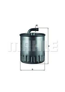 MAHLE KL179 Gázolajszűrő, üzemanyagszűrő MERCEDES C, CLK, G, M