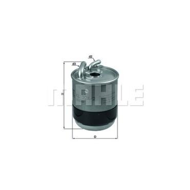 MAHLE KL228/2D Gázolajszűrő, üzemanyagszűrő MERCEDES A, B, C, CLC, CLK, CLS, E, G, GL, GLK, M, R, S, SPRINTER, VIANO, VITO