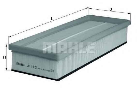 MAHLE LX1452 Levegőszűrő 1.6 HDi