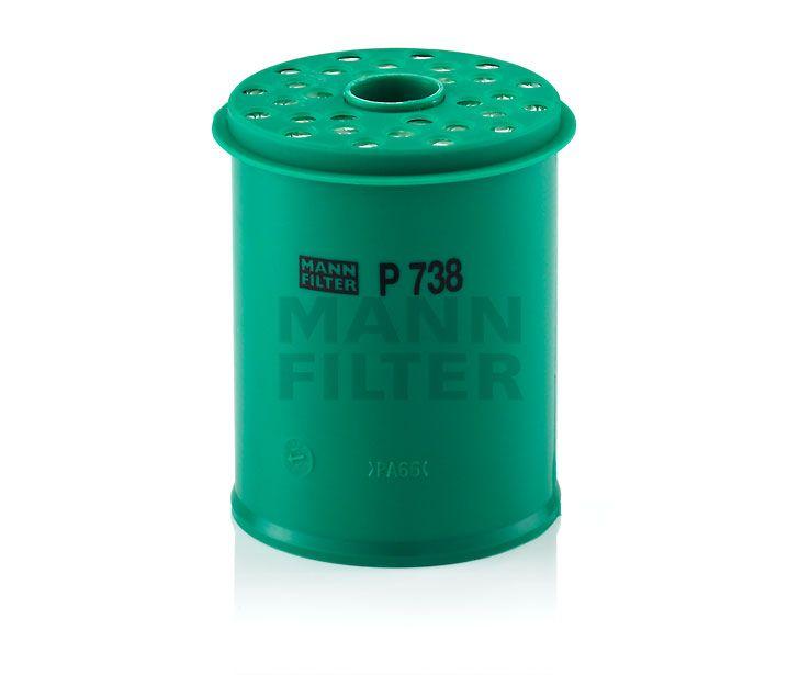 MANN Filter P738x Gázolajszűrő, üzemanyagszűrő CITROEN EVANSION, XANTIA, XM, FIAT ULYSSE, LANCIA ZETA, PEUGEOT 406, 605, 806