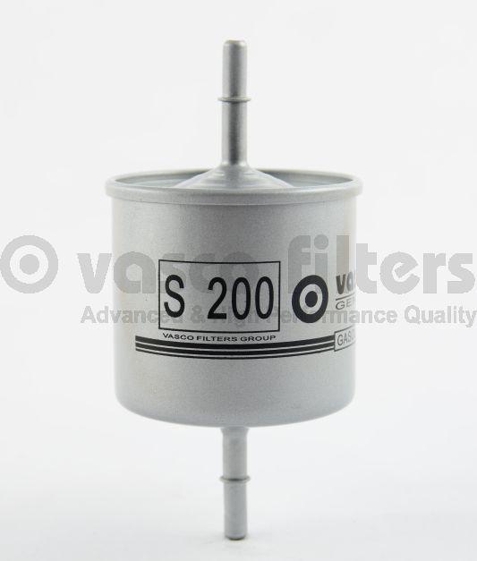 VASCO S200 Benzinszűrő, üzemanyagszűrő VOLVO S40, S60, S80, V70, XC70, XC90, V40