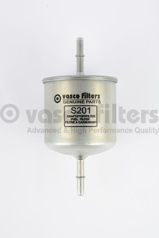 VASCO S201 Benzinszűrő, üzemanyagszűrő VOLVO S60, S80, V70, XC70, XC90