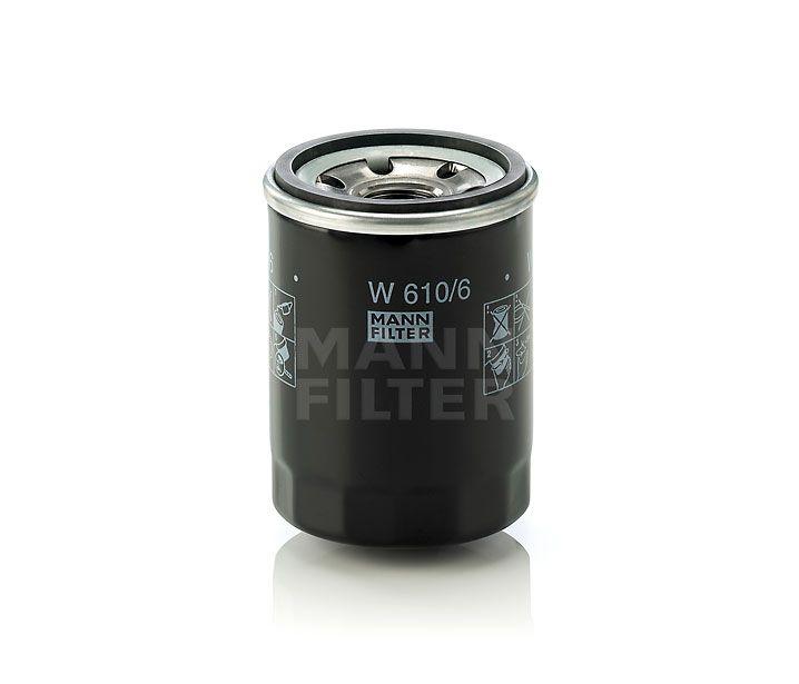 MANN Filter W610/6 Olajszűrő ALFA ROMEO, FIAT, FORD, HONDA, LANCIA, MAZDA, NISSAN, OPEL