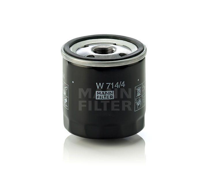 MANN Filter W714/4 Olajszűrő Alfa Romeo, Fiat, Lancia