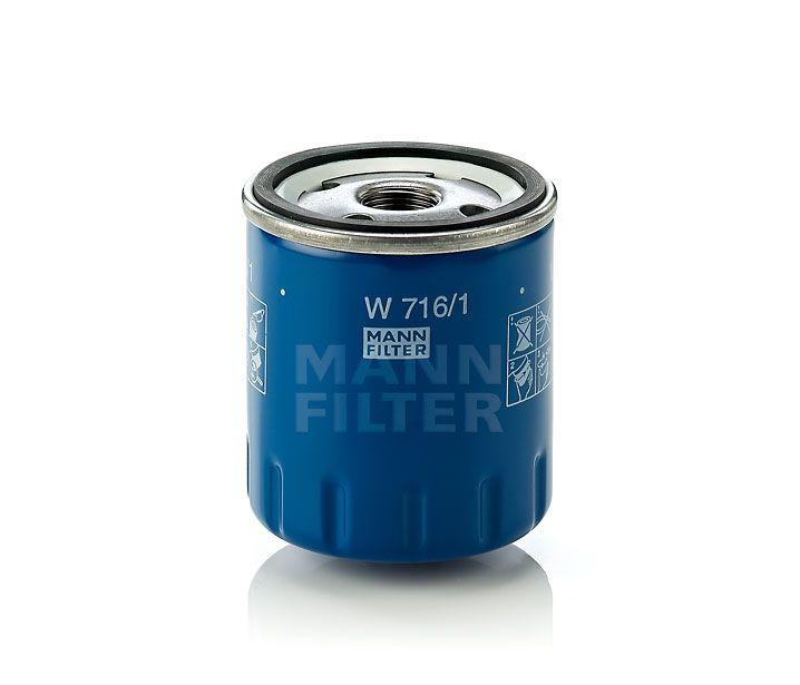 MANN Filter W716/1 Olajszűrő Citroen, Fiat, Lancia, Nissan, Opel, Peugeot, Renault, Suzuki, Toyota