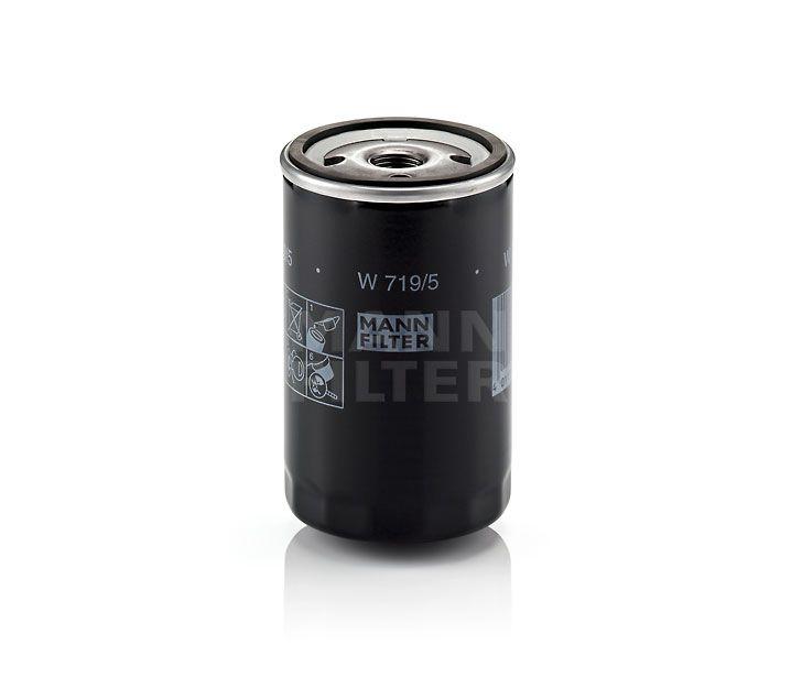 MANN Filter W719/5 Olajszűrő Audi, Seat, Skoda, VW