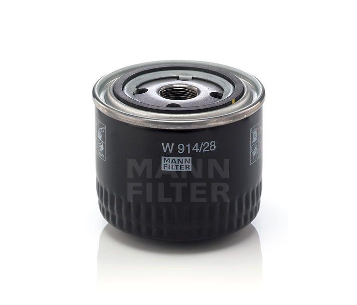 MANN Filter W914/28 Olajszűrő FIAT DUCATO, IVECO DAILY