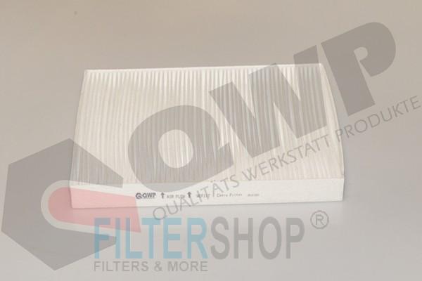 QWP WCF117 Pollenszűrő AUDI Q7, PORSCHE CAYENNE, VW TOUAREG, T5, T6, AMAROK