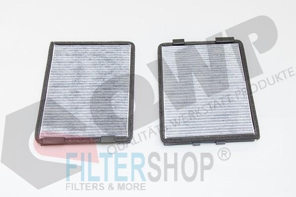QWP WCF342 Aktívszenes pollenszűrő BMW E39