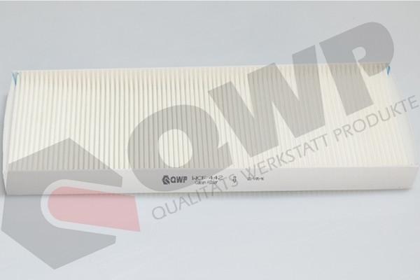 QWP WCF442 Pollenszűrő CITROE C8, JUMPY, FIAT SCUDO, ULYSSE, LANCIA PHEDRA, PEUGEOT 807, EXPERT