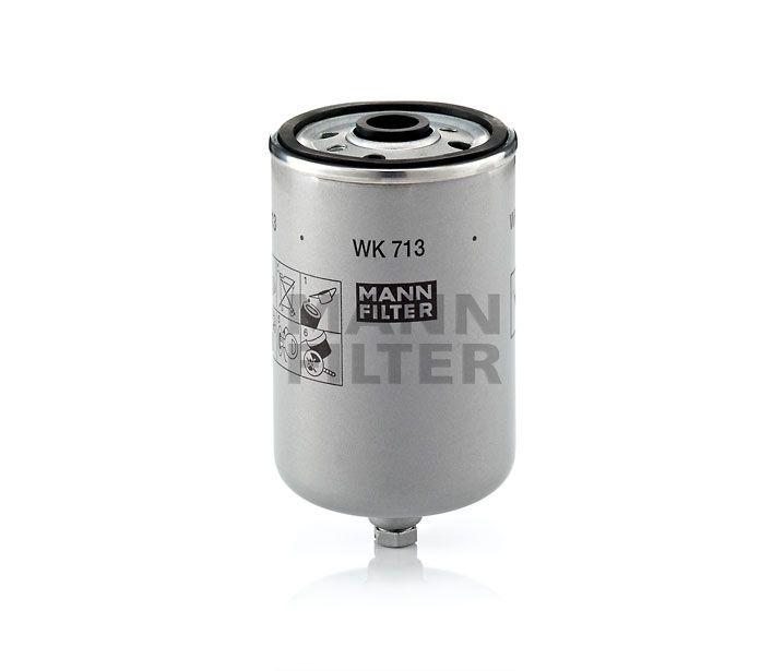 MANN Filter WK713 Gázolajszűrő, üzemanyagszűrő VOLVO S60, S80, V70, XC70, XC90 2.4 TD