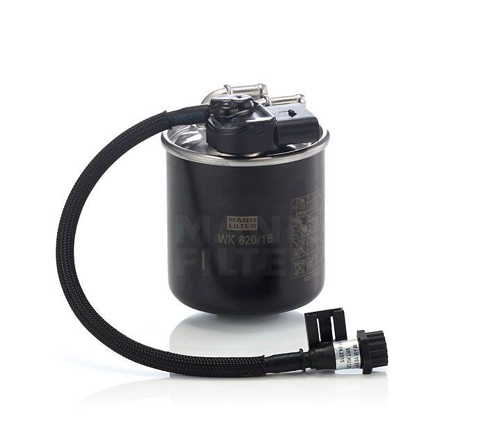 MANN Filter WK820/18 Üzemanyagszűrő, gázolajszűrő Mercedes-Benz