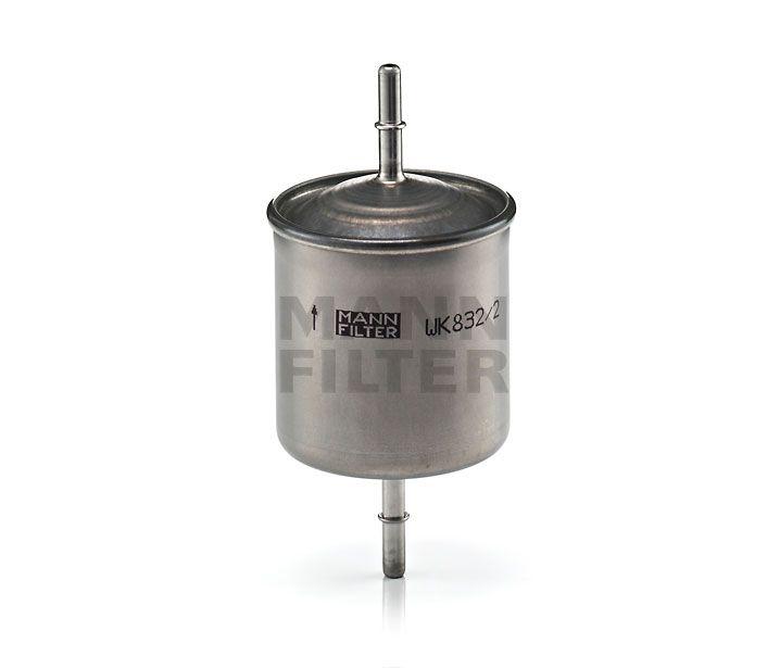 MANN Filter WK832/2 Benzinszűrő, üzemanyagszűrő VOLVO S60, S80, V70, XC70, XC90
