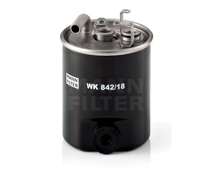 MANN Filter WK842/18 Gázolajszűrő, üzemanyagszűrő MERCEDES SPRINTER, VITO