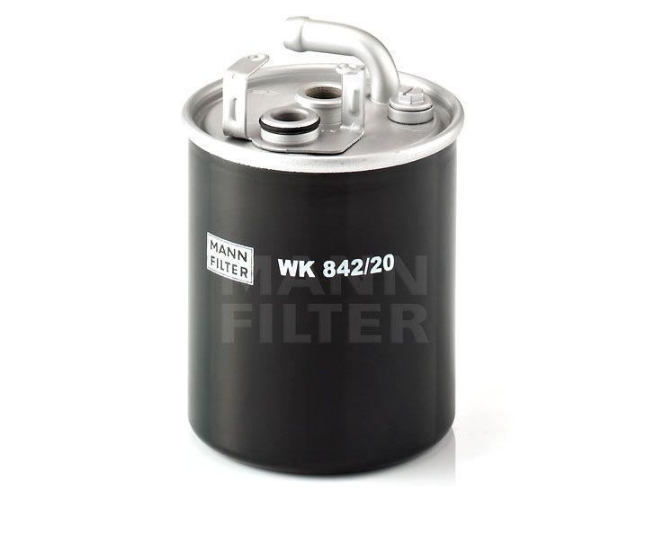 MANN Filter WK842/20 Gázolajszűrő, üzemanyagszűrő MERCEDES SPRINTER