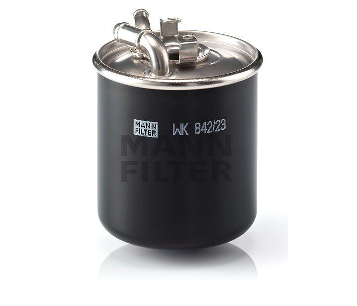 MANN Filter WK842/23x Gázolajszűrő, üzemanyagszűrő MERCEDES A, B, C, CLC, CLK, CLS, E, G, GL, GLK, M, R, S, SPRINTER, VIANO, VITO