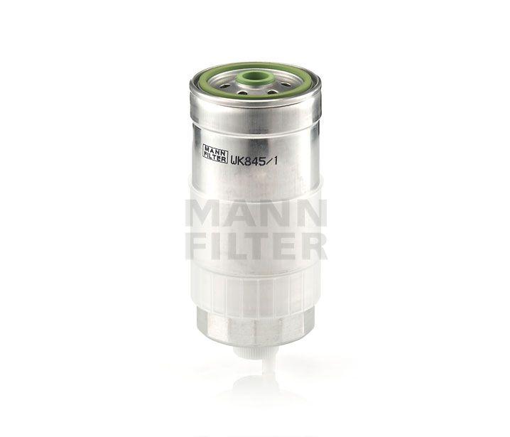 MANN Filter WK845/1 Gázolajszűrő, üzemanyagszűrő AUDI A4, A6, FIAT BARVA, BRAVO, MAREA, MULTIPLA, PUNTO, VOLKSWAGEN PASSAT, VOLVO 850, S70, S80, V70,