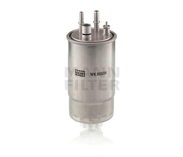 MANN Filter WK853/24 Gázolajszűrő, üzemanyagszűrő OPEL MERIVA 1.3 CDTi Z13DT, Z13DTJ, Y13DT