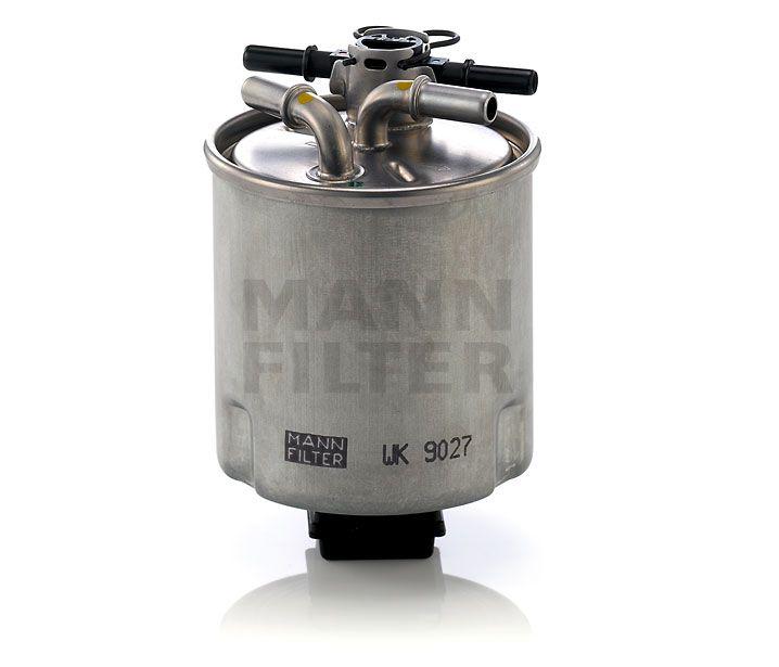 MANN Filter WK9027 Gázolajszűrő, üzemanyagszűrő NISSAN QASHQAI, X TRAIL, RENAULT KOLEOS 1.5 DCi, 2.0 DCi