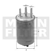 MANN Filter WK9053z Gázolajszűrő, üzemanyagszűrő Peugeot, Citroen, Fiat