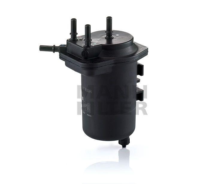 MANN Filter WK939/4 Gázolajszűrő, üzemanyagszűrő 1.5 DCi DACIA LOGAN, NISSAN MICRA, NOTE, RENAULT CLIO, KANGOO, MEGANE, SCENIC, THALIA