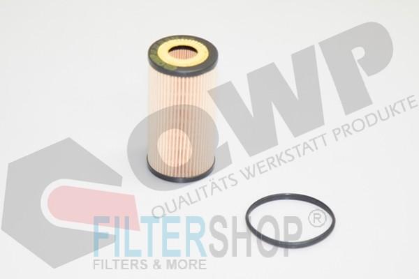 QWP WOF207 Olajszűrő Audi, Ford, Seat, Skoda, VW, Volvo