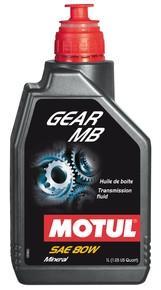 Motul GEAR MB 80W 1 Liter hajtóműolaj, váltó és differenciálmű olaj