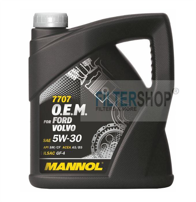 Motorolaj MANNOL O.E.M. Ford, Volvo 5w30 4 L
