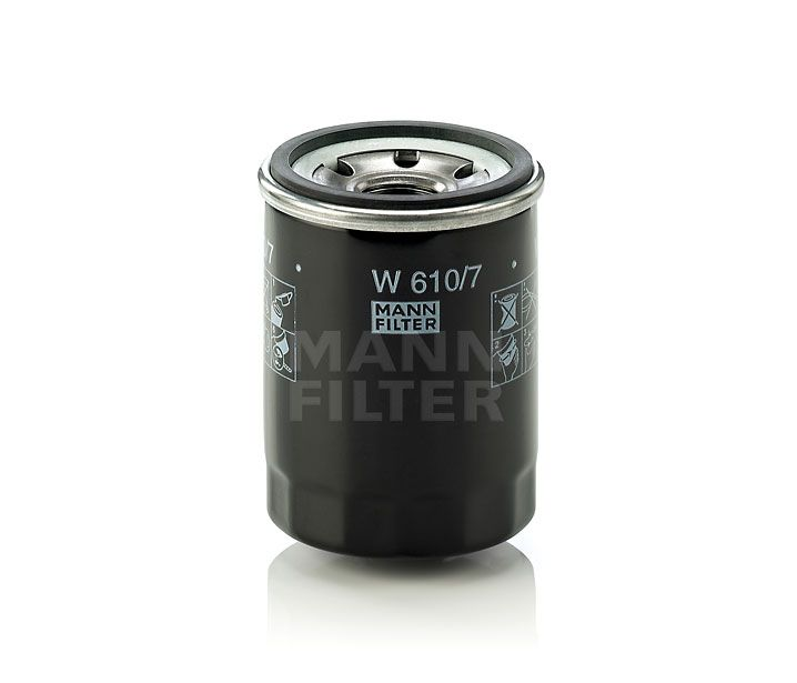 MANN Filter W610/7 Olajszűrő Hyundai, Renault, Mazda, Kia, Honda, Nissan, Subaru